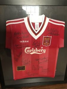 Liverpool Greats Signed Shirt