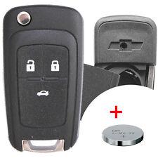 Klapp Schlüssel Gehäuse + Batterie CHEVROLET Matiz Kalos Aveo Cruze Captiva G2X