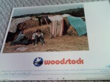 WOODSTOCK RARE 1970 U.S. 11x14 LOBBY CARD #5 MINT MUSIC 1960's HTF ORIG AMERICAN