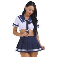 Adults Uniform Halloween Women Role Play Fancy Mini Dress Cosplay Costumes