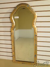 40002: FRIEDMAN BROTHERS #6586 Chinoiserie Decorative Gold Mirror ~ New
