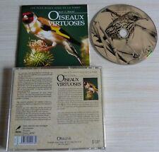 CD LES PLUS BEAUX SONS DE LA TERRE JEAN C. ROCHE OISEAUX VIRTUOSES 60 MINUTES