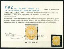 Lombardo Veneto 1864 Sass. 41 Nuovo * 100% Cardillo Certificato