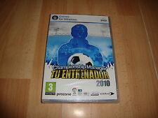 CHAMPIONSHIP MANAGER TU ENTRENADOR 2010 DE EIDOS PARA PC NUEVO PRECINTADO