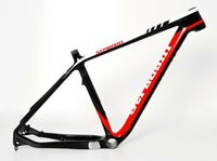 "STRADALLI HARDTAIL CARBON FIBER FRAME MTB RED 29ER 29"" BICYCLE BIKE CX PF30"