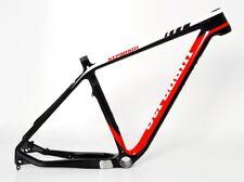 "STRADALLI HARDTAIL CARBON FIBER FRAME MTB RED 29ER 29"" BICYCLE BIKE CX PF30"