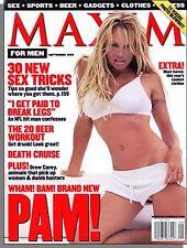 Maxim 21 - 1999, September - Pamela Anderson, 30 New Sex Tricks, Michael Strahan