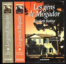 INTEGRALE LES GENS DE MOGADOR n°1-2 - ELISABETH BARBIER - 1994 OMNIBUS
