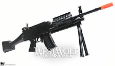Airsoft Military Machine Gun with Bipod + Extras -- Assault/Rifle/Prop/M16/SAW