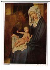 Postcard: Maria Mit Dem Kinde (Mary with Child) - Gerard David