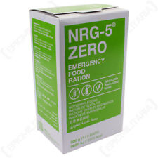 NRG Emergency Food Rations - Gluten Free, Lactose Free and Suitable for Vegans