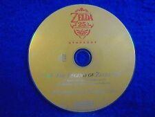 CD ZELDA 25th Anniversary Symphony Soundtrack*x The Legend Of Skyward Sword wii