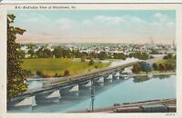 LAM(A) Norristown, PA - Bird's Eye View of Town Over River