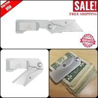 Gerber Cutter Outdoor Work Tool Safety Folding Pocket Knife Cutting Razor Blade