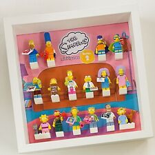 Display Frame for Lego The Simpsons Series 2 71009 minifigures figures 27cm