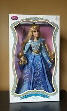 "Disney Store SLEEPING BEAUTY/AURORA Doll 17"" Limited Edition Blue Dress NEW"