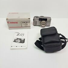 CANON Sure Shot Z115 Vintage 35mm Film Point & Shoot Camera w/ Original Box