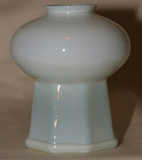 RARE Signed Tiffany Mosque Lamp Shade LCT 8 Sided Base  **LOOK*