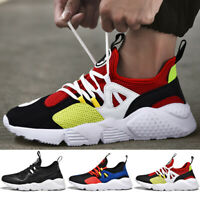 Mens Sneakers Ultralight Athletic Running Casual Walking Tennis Gym Sports Shoes