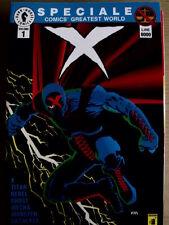 Speciale Comics Greatest world X n°1  1994 ed. Dark Horse Star Comic[G.175]