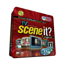 TV SCENE IT DELUXE DVD GAME Metal Tin Trivia Video Adult Party Pop Culture NEW