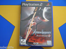 XTREME LEGENDS DYNASTY WARRIORS 4  - PLAYSTATION 2 - PS2