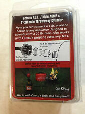 Camco 59213 Campfire Adapter Propane New