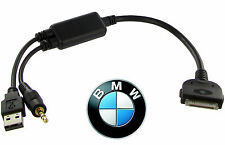 BMW iDrive iPod iPhone cable dock lead adapter Mini Cooper CT29IP10 AUX USB