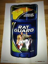 2012 Topps First Series Wacky Packages Posters Rat Guard 17 Mice Rodents Vermin