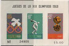 Mexico,AirMail,Scott#C342a,5 pesos,Mini sheet,MH,SCott=$20