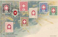 Telegraphenmarken Timbres AK 1900 Briefmarken Schweiz Suisse Svizzera 1610536