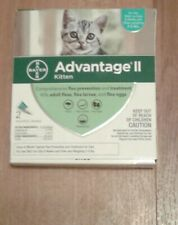Advantage Ii for kittens and cats 2-5 lbs - 2 Dose Pack - Epa Approved!