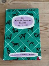 More details for rare english springer spaniel dog book by scott 1st 1960 vg condition in d/w