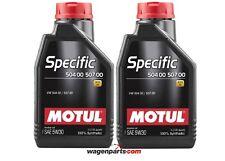 Motul Specific Volkswagen 50400 50700 5W30, motor Audi Seat Skoda TDI pack 2 L