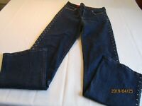 Not Your Daughters Jeans NYDJ Womens Tummy Tuck Boot Cut Jeans Sz 8 A6