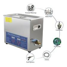 6L Ultraschallreinigungsgerät Ultraschallreiniger Ultrasonic Cleaner mit Korb