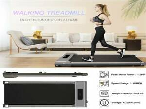 Electric Walking Pad Treadmill Home Exercise Machine Fitness Used Running Pad