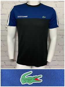 Lacoste Sport Mens Medium Active Shirt Ultra Dry Slim Fit Excellent Condition