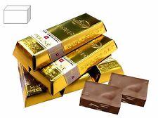Mini Schokoladen Goldbarren 5 x gefüllt mit 2 Nougat Pralinen in Goldbarren