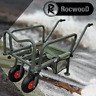 Fishing Trolley Two Wheel Folding Barrow Cart with Bag Adjustable Legs