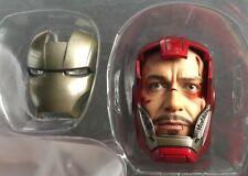 Hot Toys 1/6 MMS213 IRON MAN 3 Silver Centurion Mark 33 Tony Stark HEAD SCULPT