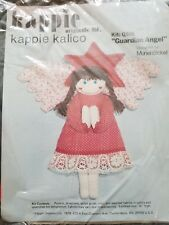 """Kappie Kalico """"Guardian Angel"""" Sewing Embroidery Kit Size 16"""" High"""
