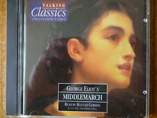 2 CD AUDIO BOOK - MIDDLEMARCH -Talking Classics No 12