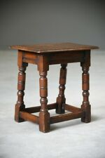 More details for charles ii style oak joint stool