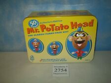 Mint 2001 Hasbro Playskool Collector's Edition Tin Mr Potato Head 50th Birthday