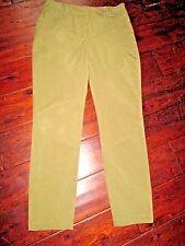 WOMEN'S SZ 0 GREEN REBECCA MINKOFF ANKLE PANTS * STYLE # PF13407 *EXCELLENT