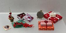 Vintage Artisan Valentine's Decor Flowers Candy Candle Dollhouse Miniature 1:12