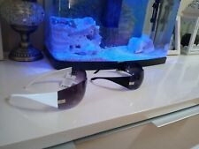 Two new Versace sunglasses black and white repllica