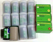 Vintage Fujifilm Lot 15 NOS FujiChrome R100 FUJI Film 20 & 36 Exposure EXPIRED
