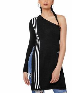 adidas Originals Women's TLRD Sweatshirt One Shoulder Knit Sweater Top XS S M L